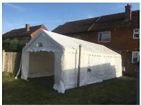 Used heavy duty marquee for sales 2 sizes available