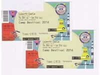 2 x Camp Bestival Adult Full Weekend Tickets - Lulworth Castle, Dorset 28th to 31st July