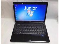 Dell Fast Laptop, 4GB Ram, 320GB, Windows 7, Microsoft office, Very Good Condition, DVD drive, wifi