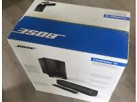 NEW BOXED BOSE CINEMATE 15 SOUND BAR HOME CINEMA SYSTEM RRP £549