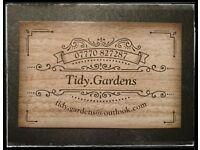 Tidy.Gardens ... Garden Maintenance.