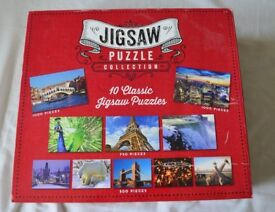 New box of 10 classic Jigsaw puzzles