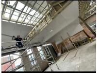 Highly skilled professional plasterer