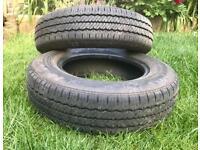 Pair of Tyres