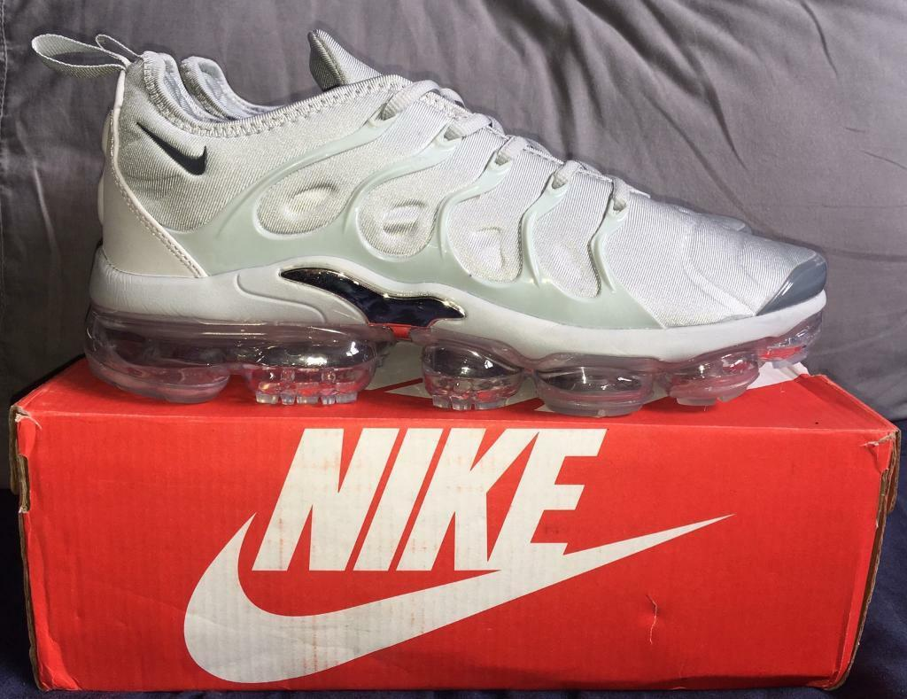 3f258af12a2f Nike Air Vapormax TN Plus TUNED Grey Men s UK 10 Trainers BNIB ...