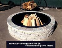 Genuine Granite Fire Pits