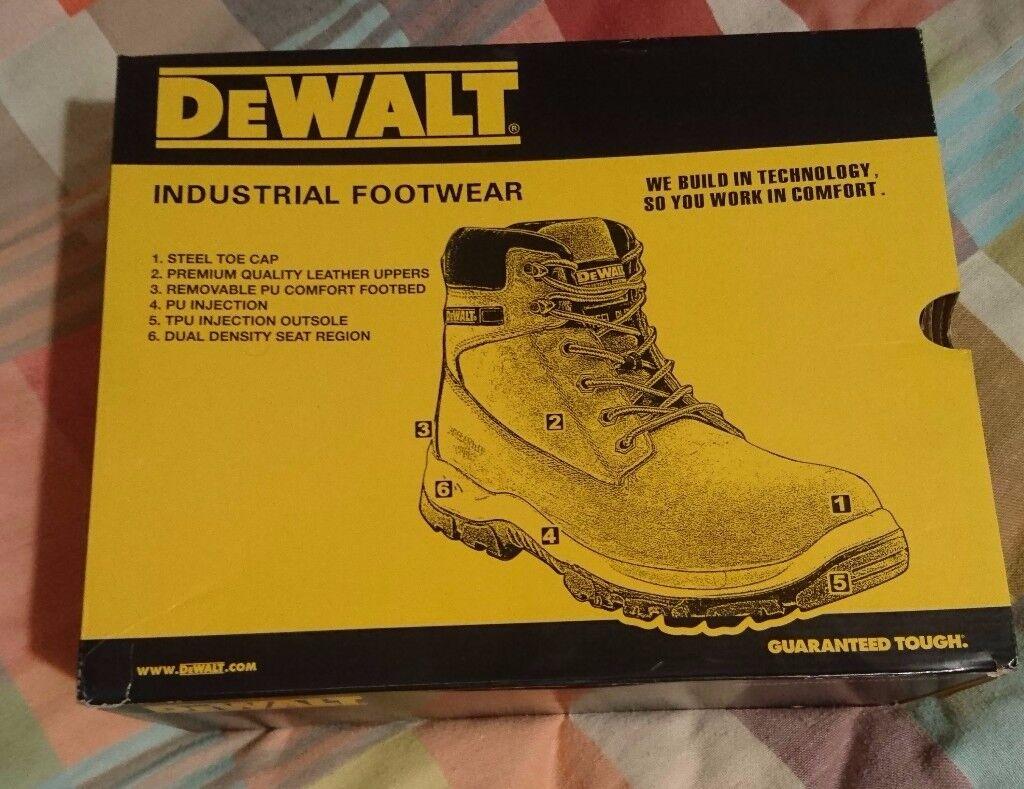 Dewalt mens work boots size 10