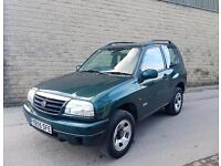 2006 GRAND VITARA FULL HISTORY 12 MONTHS MOT 1 MONTH FREE WARRANTY