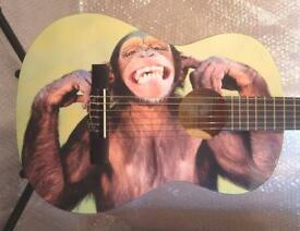 CHEEKY CHIMP CHILDRENS 3/4 SIZE CLASSICAL GUITAR