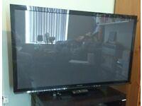 Panasonic TX-P50X60B 50 inch Plasma TV with freeview HD