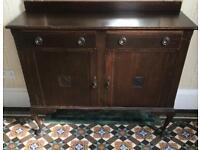 Vintage entrance hallway cabinet
