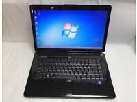 Dell Fast Laptop, 320GB, 3GB Ram, Genuine Windows 7, Microsoft office, Very Good Condition