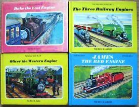 Vintage Thomas the Tank Engine books by Rev. W Awdry