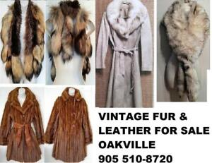 REAL FUR SHEEPSKIN COATS JACKETS HATS MITTS Vintage Refurbished Womens Mens CUSTOM ORDERS Add Fur trim to anything