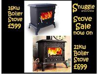 Stove. Boiler stoves.