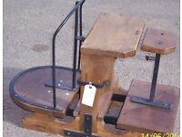 SACK/ POTATO SCALES RESTORED WITH WEIGHT.