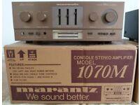 Marantz & Misc Stereo Equipment