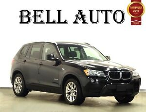 2013 BMW X3 xDrive28i  LEATHER PANORAMIC ROOF