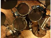 Traps Electronic Drum Set with extras