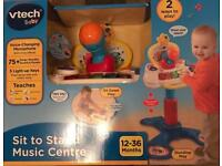 Vetch baby sit to stand music centre 12-36 months - New in box