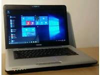 Toshiba laptop 4gb ram hdmi Windows 10
