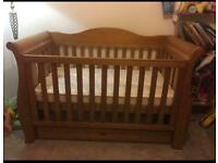 BOORI COUNTRY SLEIGH ROYALE COT BED