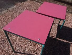 Reconditioned School Tables x 2