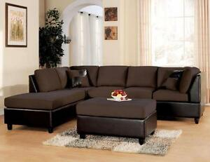 FREE OTTOMAN WHEN YOU BUY A SECTIONAL FOR 649$