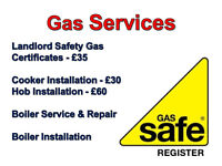 Gas Safe, Engineer, Boiler Repair/Services, Gas Certificates, Cookers, Hobs, Plumbing, Breakdown