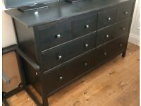 Mint condition HEMNES Chest of 8 drawers