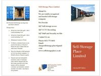 Cheap Self Storage in Birmingham city center from £24 a week