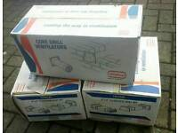 3 x Boxes of Airflow Core Drill & Telescopic Vent Sets