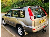 NISSAN X-TRAIL SPORT, 2.0 4x4 MANUAL PETROL, LONG MOT AND ONLY 82000 MILES. FSH, EXCELLENT CONDITION