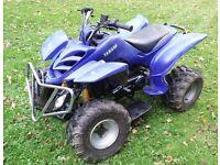 150cc four stroke quad atv with Auto CVT gearbox. Blue. ( Yamoto Bashan )