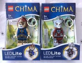TWO (2x) LEGO CHIMA LEDLITE KEY LIGHT WORRIZ & LAVAL BNIB