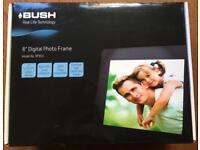"Bush 8"" Digital Photo Frame - Brand New, Never Used"