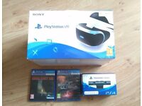 Sony Playstation VR + Camera + Games