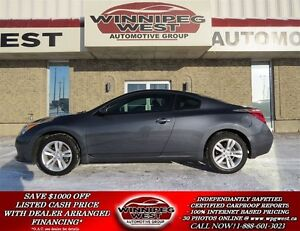 2012 Nissan Altima Grey Premium Sport, Red Leather, Sunroof, All