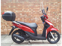 Honda Vision 110 low mileage with EXTRAS