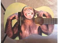 CHEEKY CHIMP AWESOME CHILDREN'S 3/4 SIZE CLASSICAL KIDS GUITAR SMALL SIZE