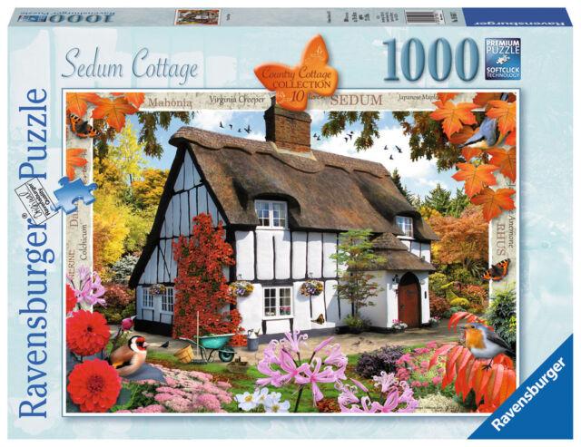 Ravensburger Puzzle - Country Cottages No 10 - Sedum Cottage - 1000 Pcs - 19651