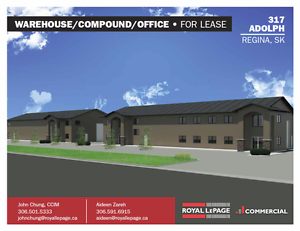 317 Adolph RM of Sherwood - Newly Built Shop/Office Space!