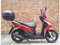 Honda Vision 110, excellent condition Low mileage with extras
