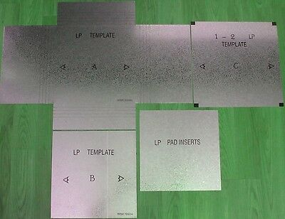 Lp Record Shipping Box Templates - Make Your Own Boxes - Records Albums Save