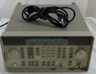 Hp Agilent Keysight 8648a 100 Khz To 1ghz Signal Generator