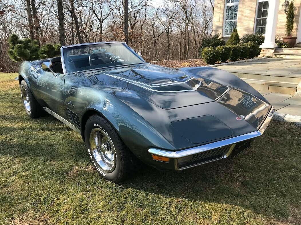 1970 Laguna Gray Chevrolet Corvette   | C3 Corvette Photo 1