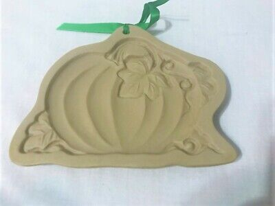 Halloween Cast 1988 (1988 Brown Bag Cookie Mold & Craft Art PUMPKIN Fall, Autumn,)