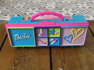 Barbie Vintage Mattel Accessories Storage Cases Tara 2002 With Accessories