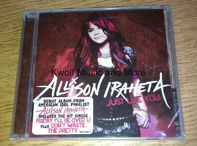 "ALLISON IRAHETA  ""Just Like You""  Debut Release   NEW/Sealed   (CD, 2009, Jive ) on Rummage"
