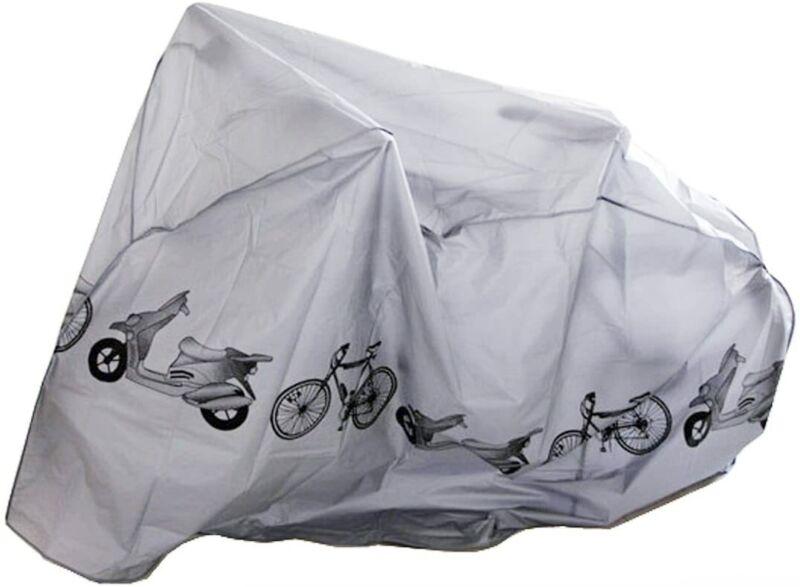 Waterproof Bicycle Rain Cover Tarp Bike Garage Fit All Storage Outdoor Protector